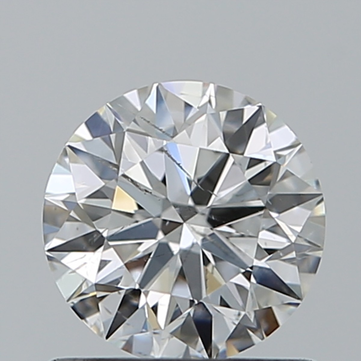 0.76 Carat Round Brilliant Diamond (F/SI1)