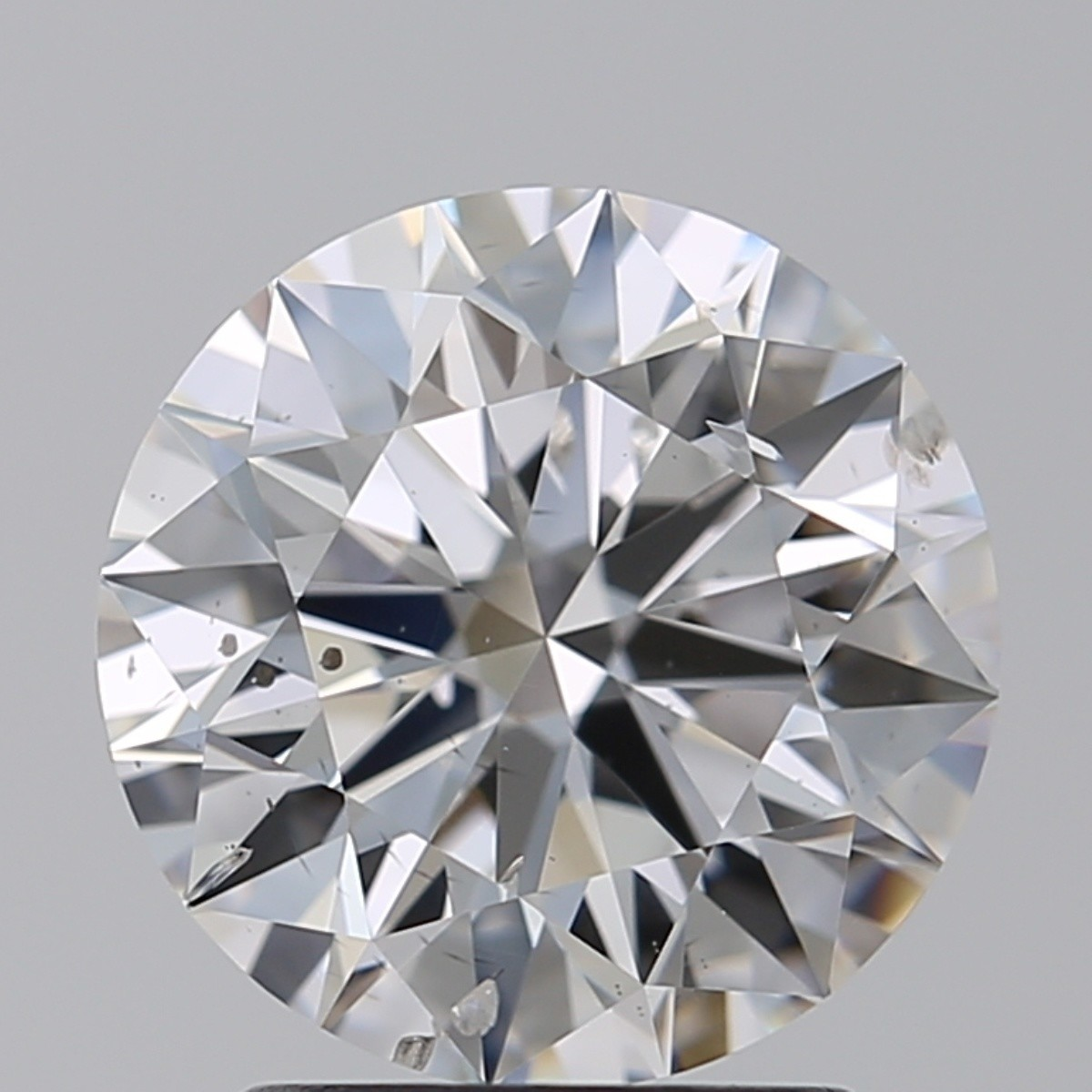 2.06 Carat Round Brilliant Diamond (D/SI2)