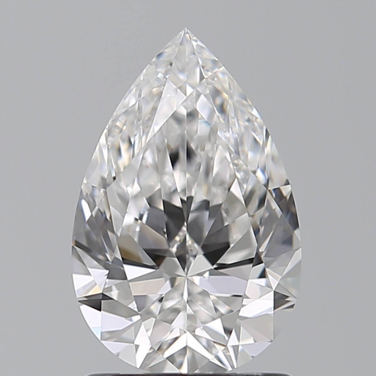 1.23 Carat Pear Diamond (D/FL)