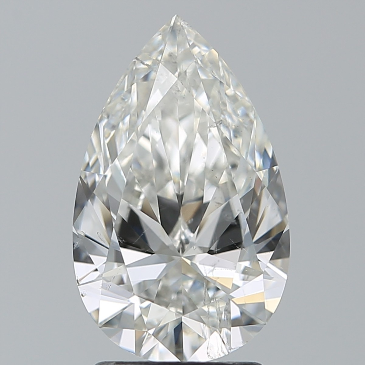 2.18 Carat Pear Diamond (H/SI1)
