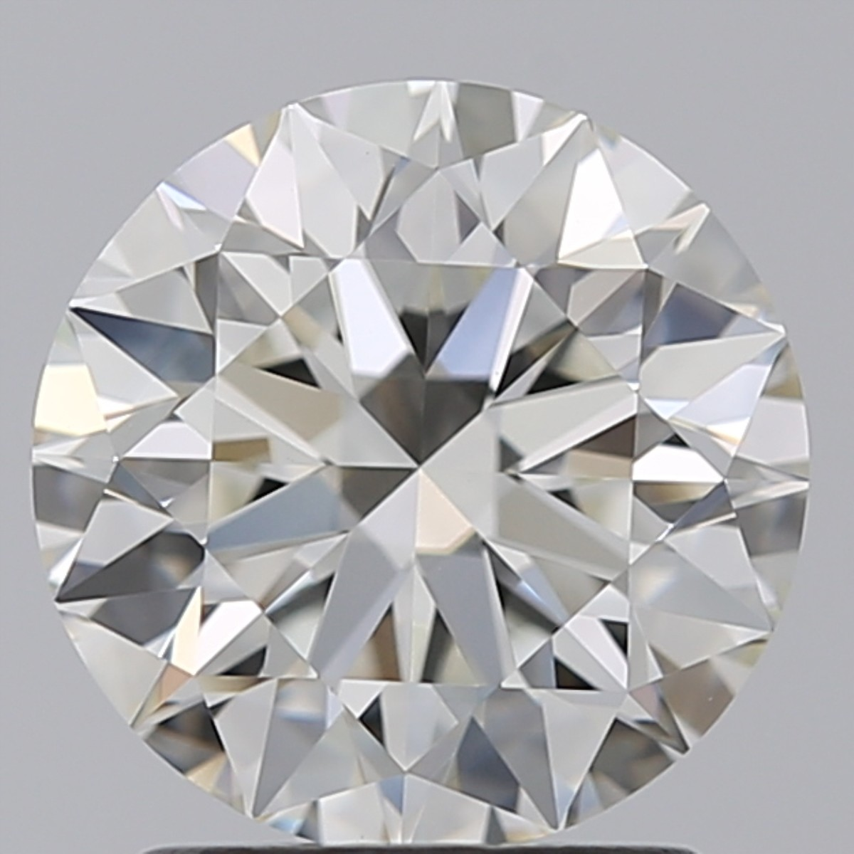 1.63 Carat Round Brilliant Diamond (I/VVS2)