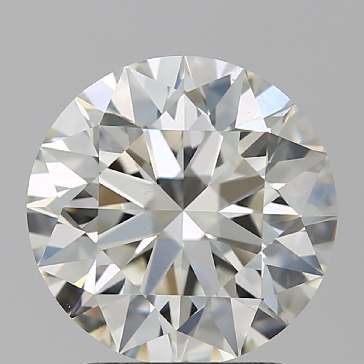 2.20 Carat Round Brilliant Diamond (J/VS2)