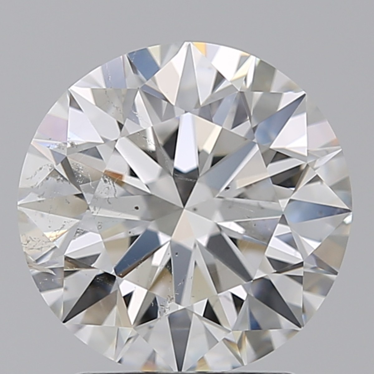 2.02 Carat Round Brilliant Diamond (F/SI2)