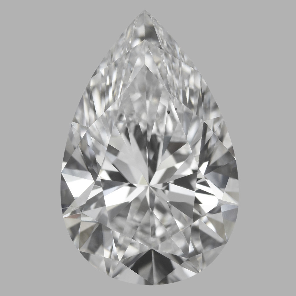 3.51 Carat Pear Diamond (D/VS2)