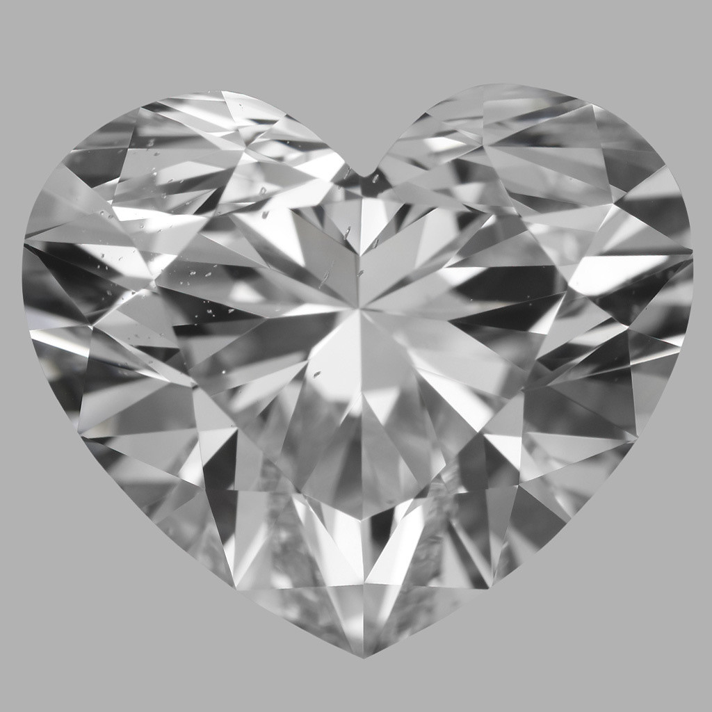 3.53 Carat Heart Diamond (D/SI1)
