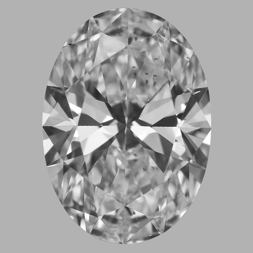1.06 Carat Oval Diamond (D/SI1)