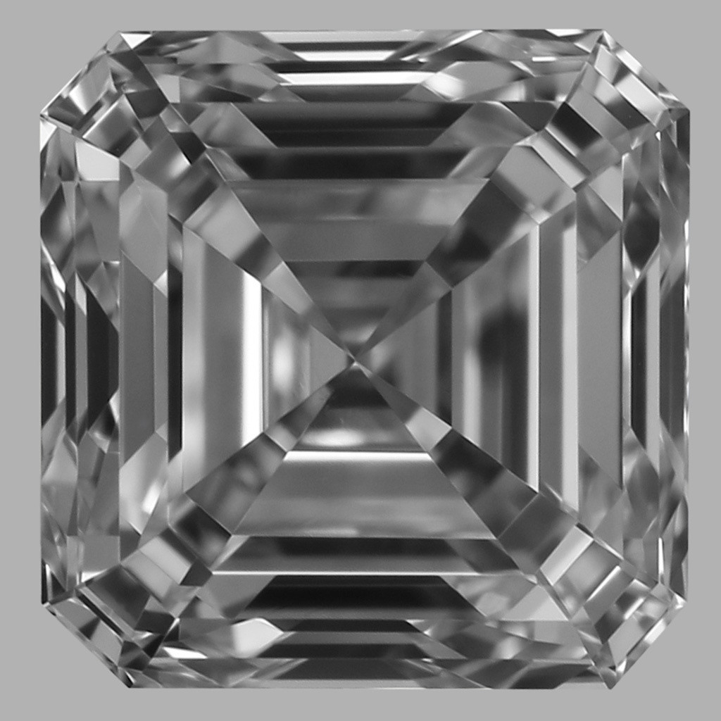 0.80 Carat Asscher Diamond (D/VS1)