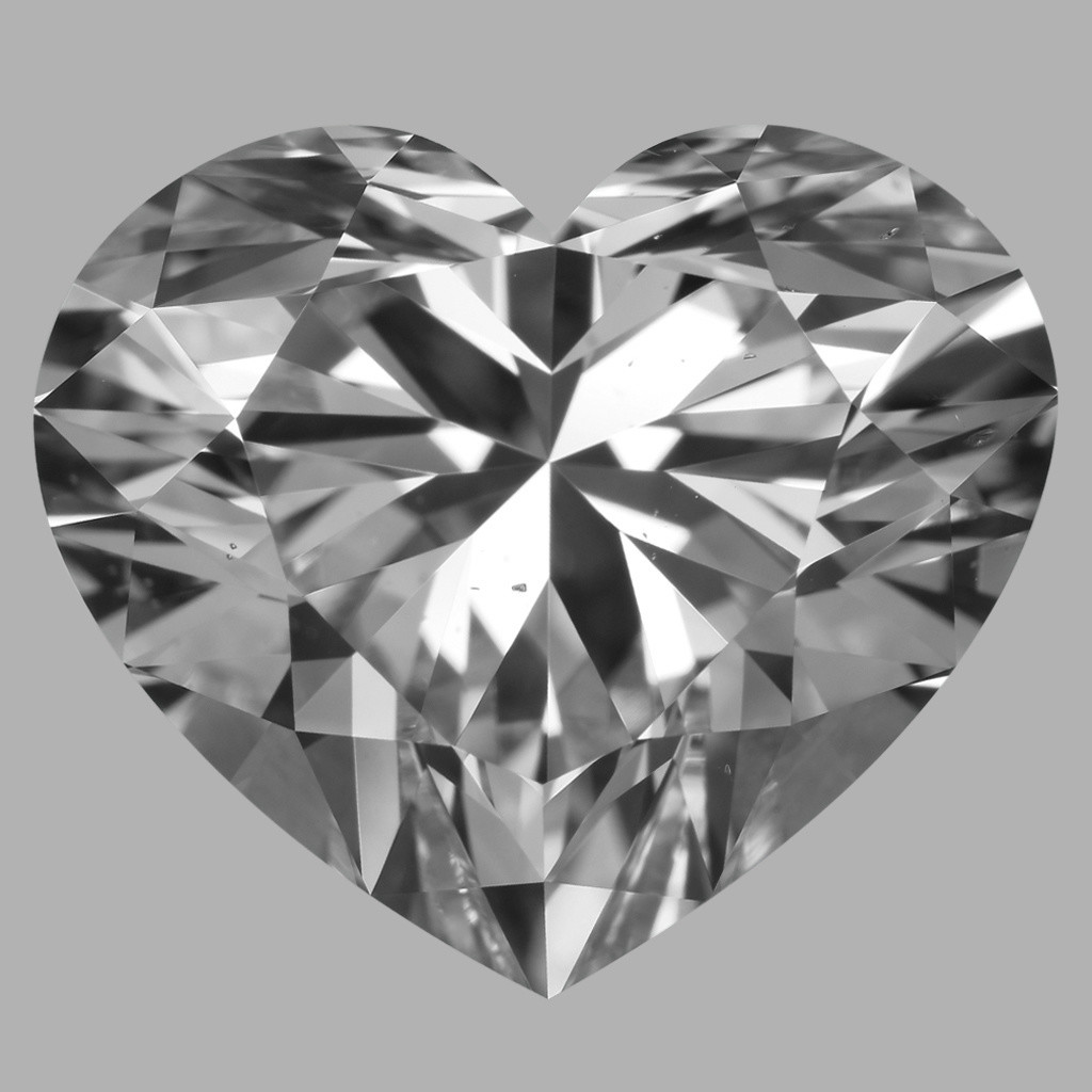 5.01 Carat Heart Diamond (D/VS2)