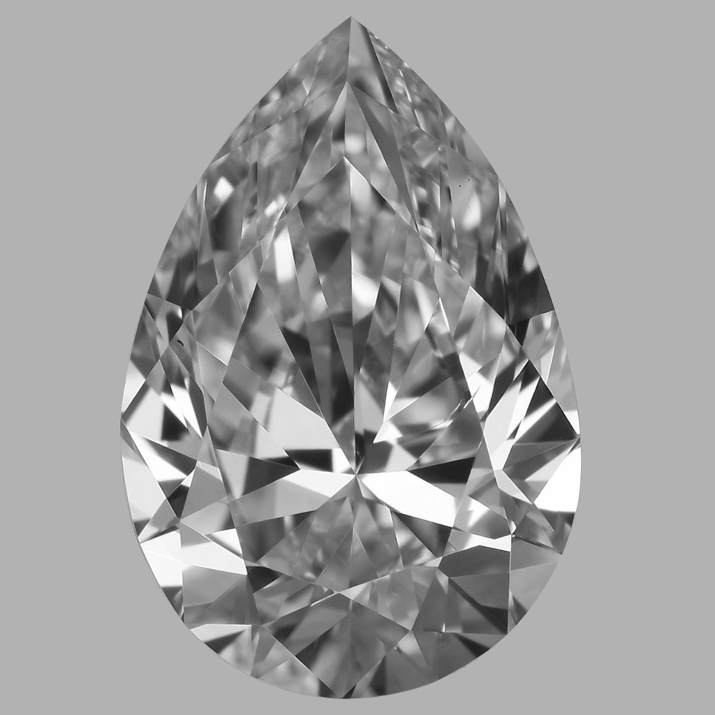 1.01 Carat Pear Diamond (D/VS2)