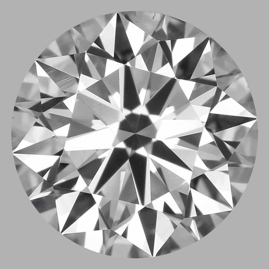 0.75 Carat Round Brilliant Diamond (E/VS2)