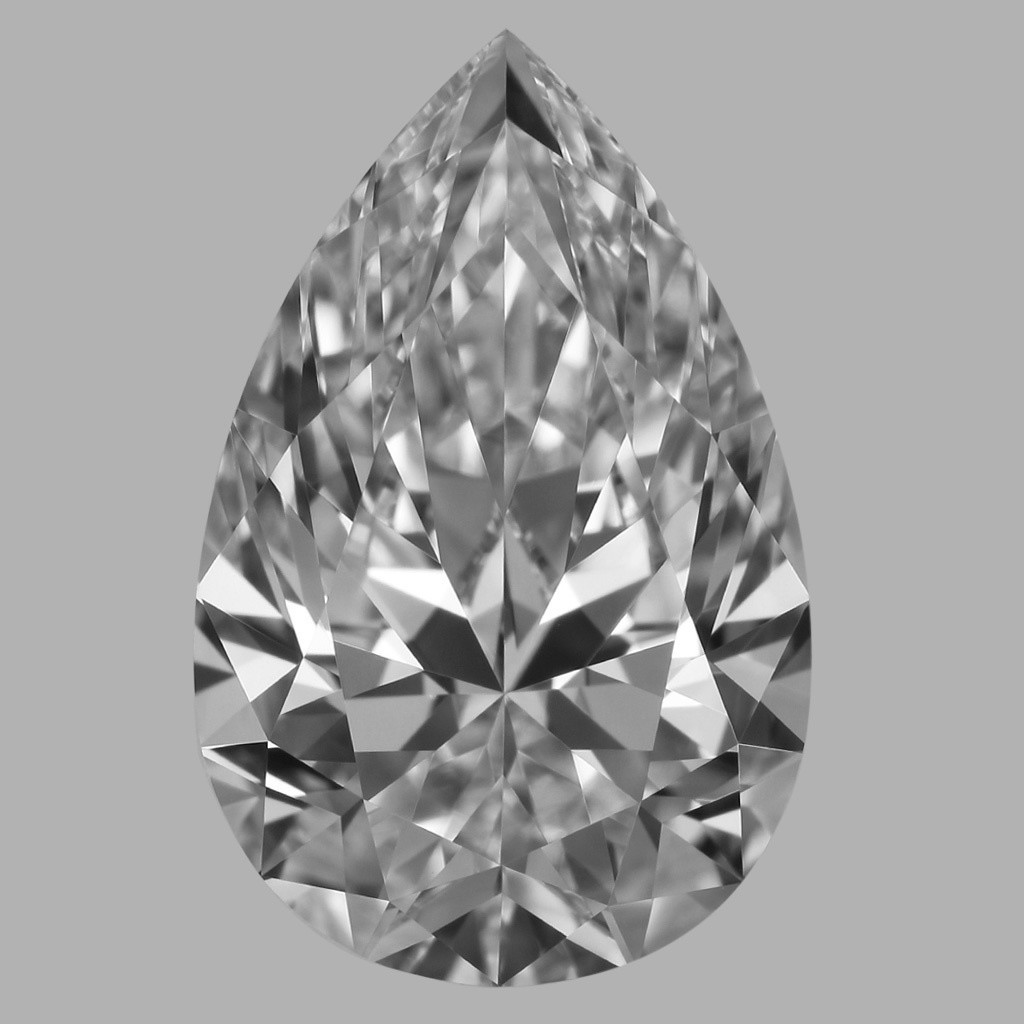 1.50 Carat Pear Diamond (D/IF)