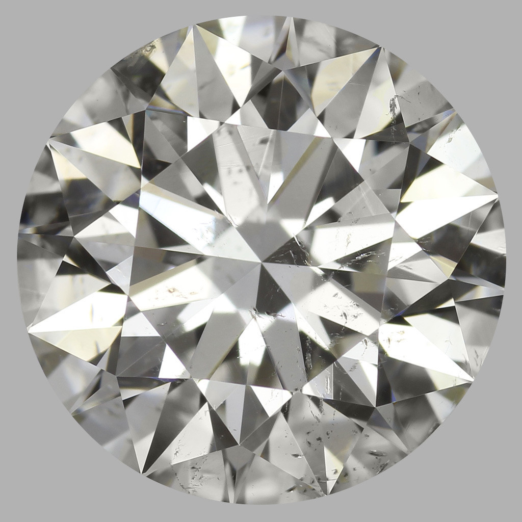 3.05 Carat Round Brilliant Diamond (I/SI2)