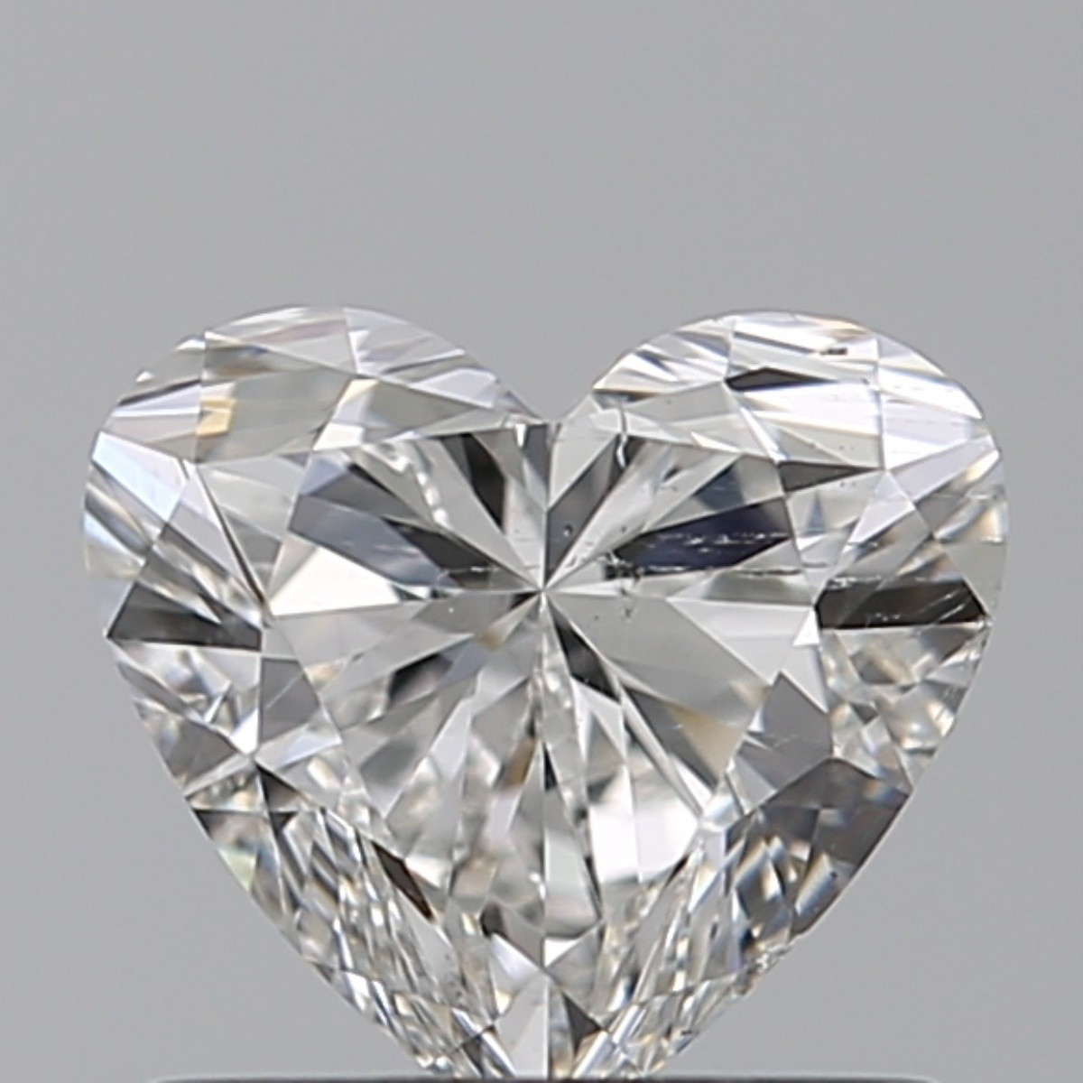0.80 Carat Heart Diamond (F/SI1)