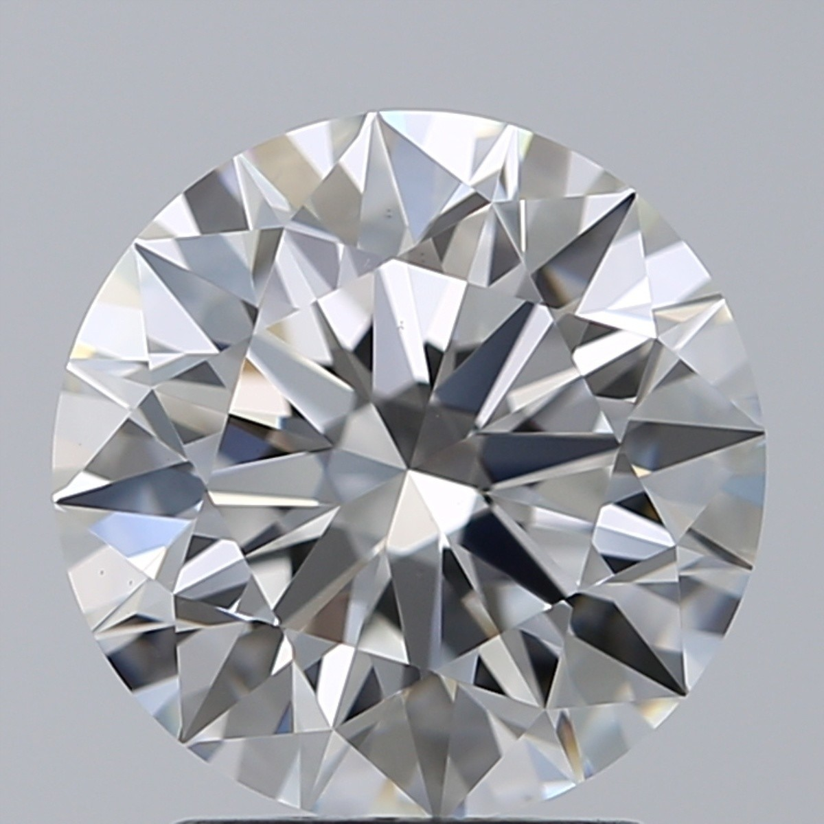 2.02 Carat Round Brilliant Diamond (F/VS1)