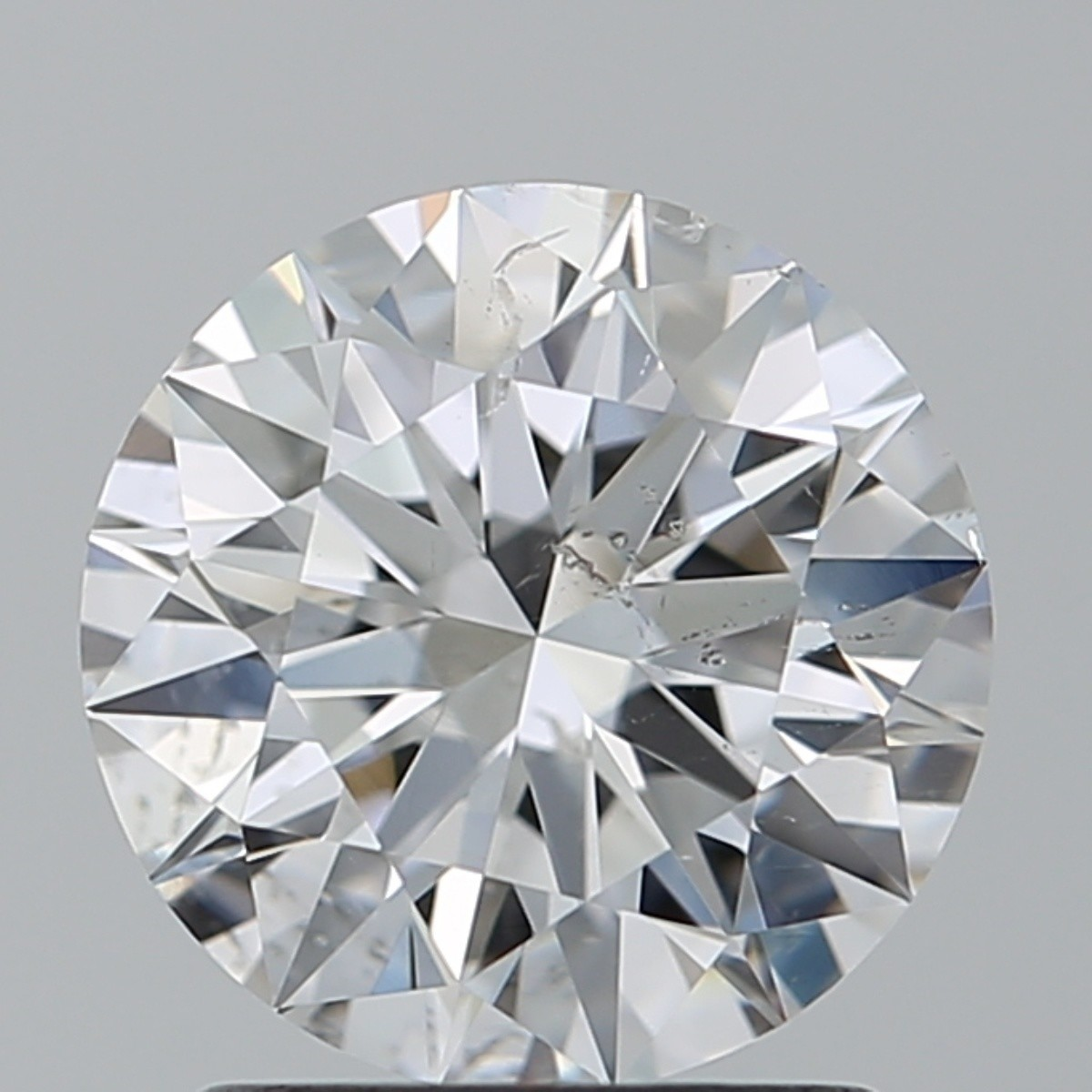 1.52 Carat Round Brilliant Diamond (D/SI1)
