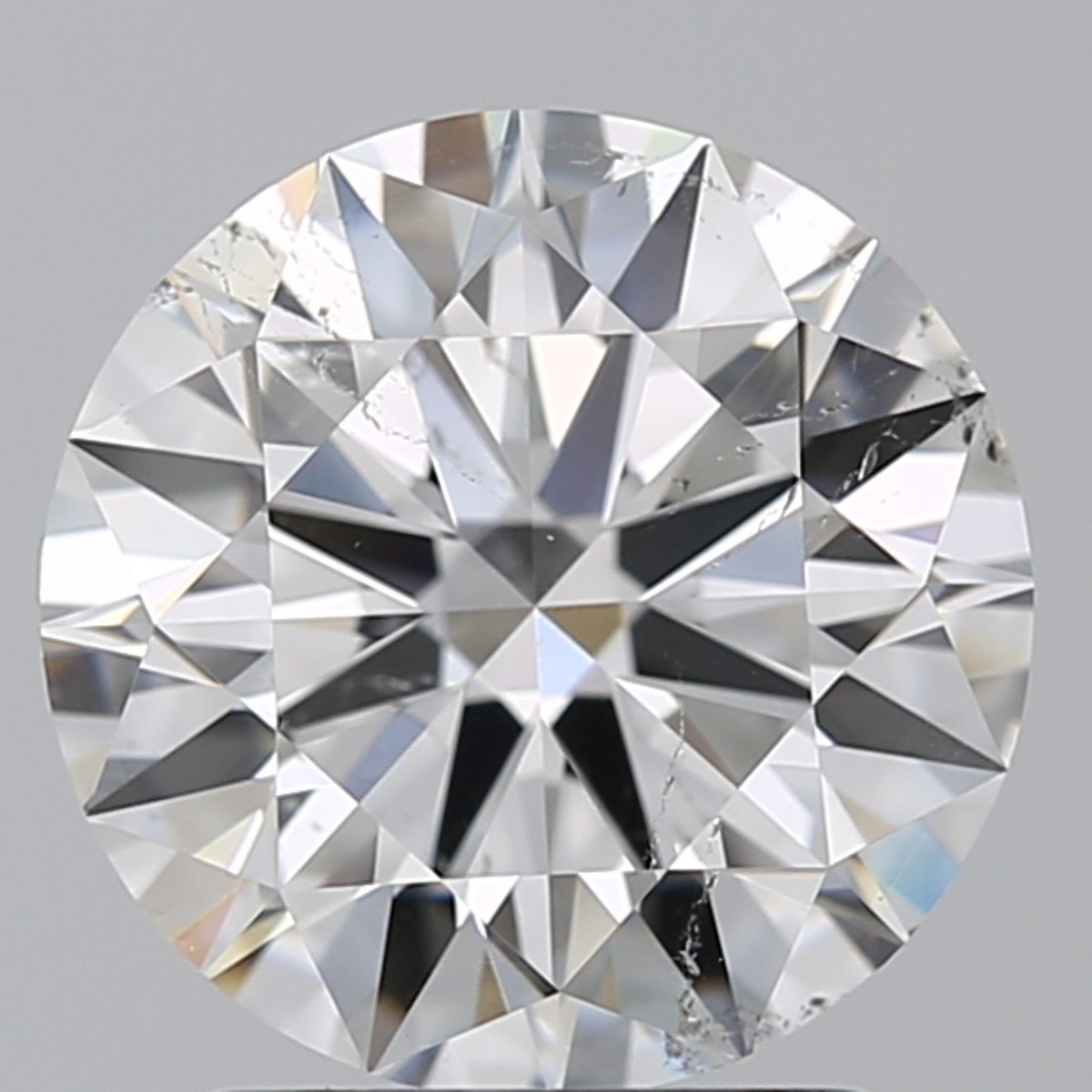 2.05 Carat Round Brilliant Diamond (E/SI1)