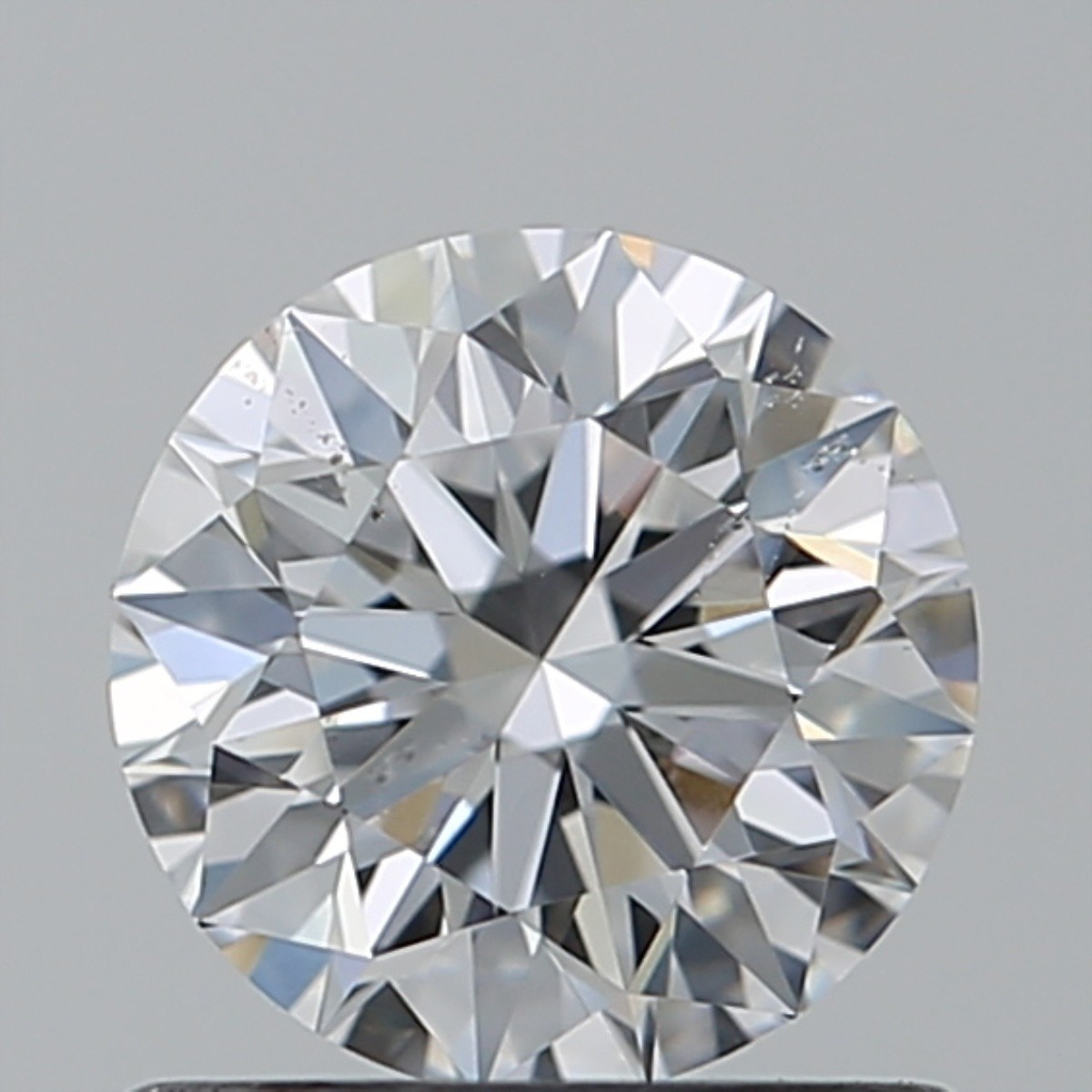 0.76 Carat Round Brilliant Diamond (D/SI1)
