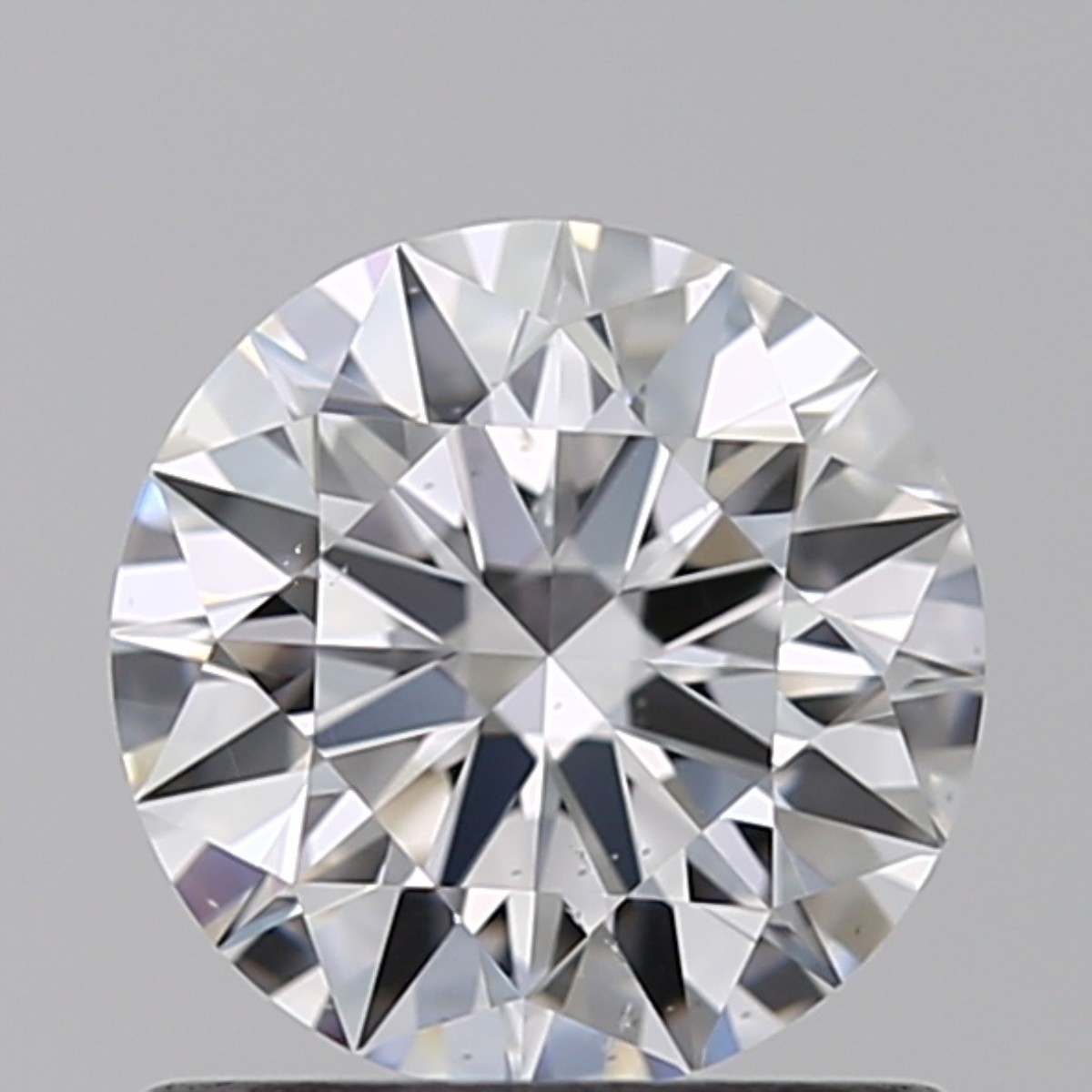 0.80 Carat Round Brilliant Diamond (D/SI1)