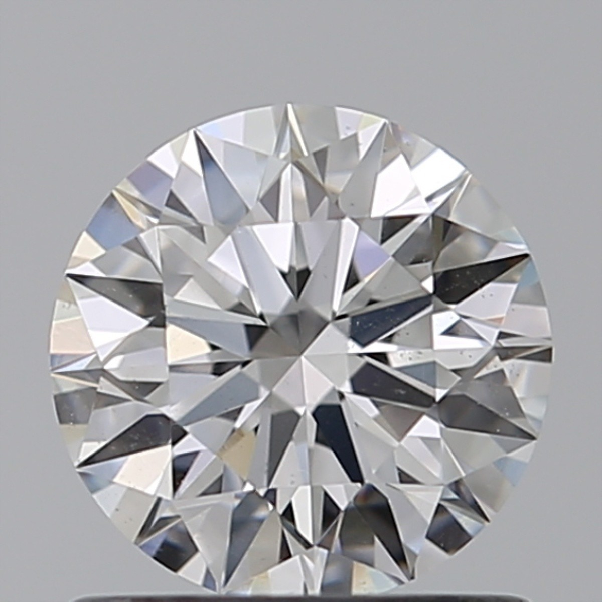0.83 Carat Round Brilliant Diamond (D/VS2)