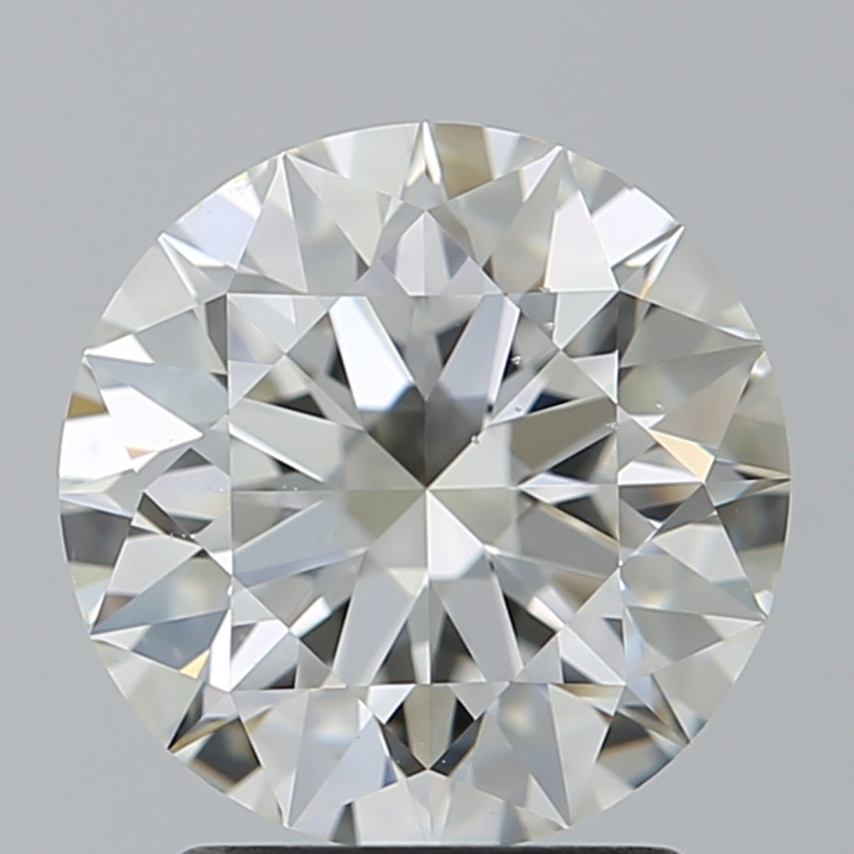 2.03 Carat Round Brilliant Diamond (H/VS2)