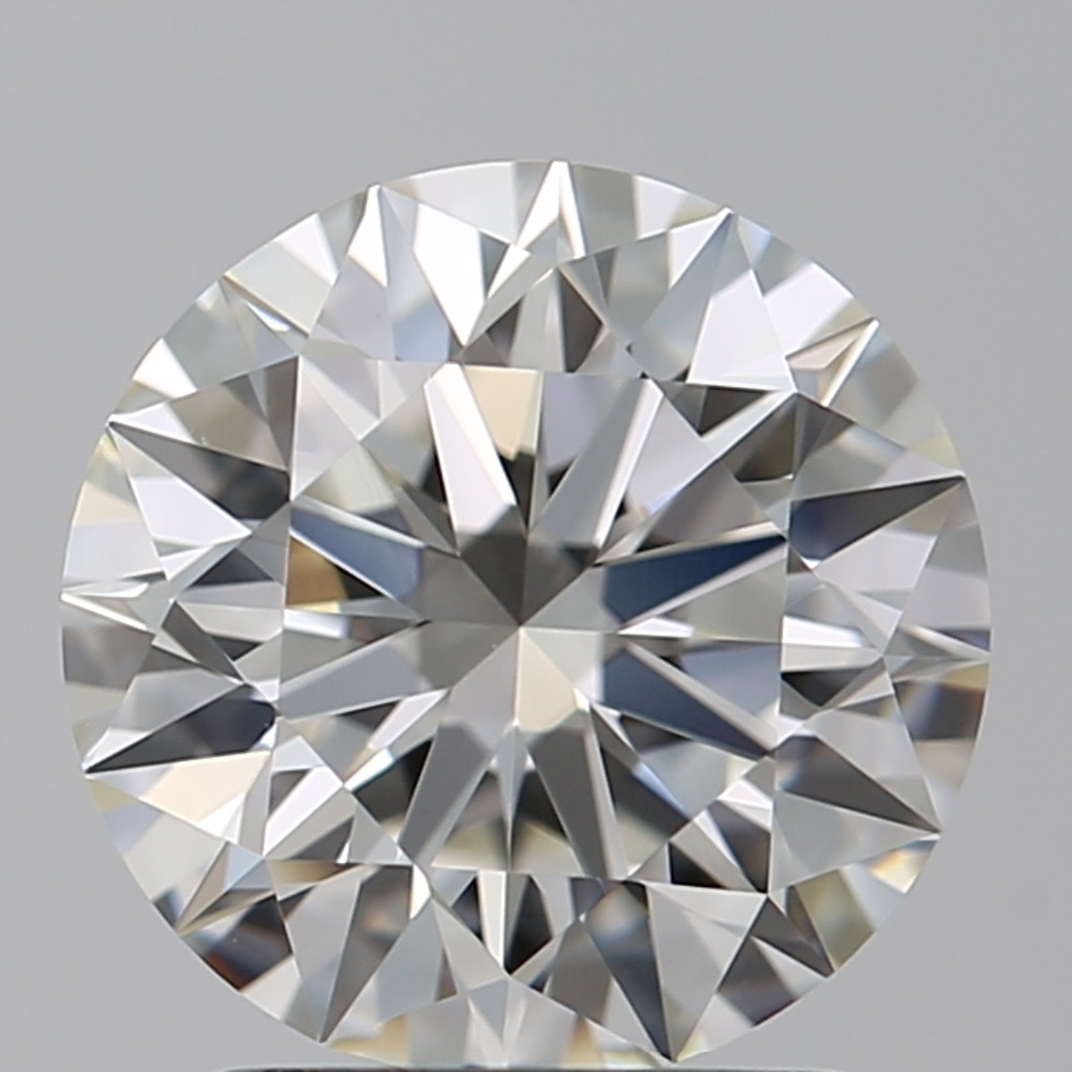 2.01 Carat Round Brilliant Diamond (I/VS1)