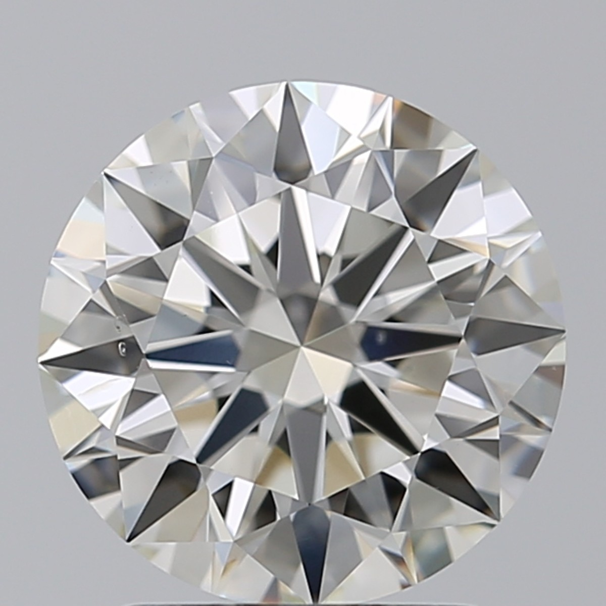 2.01 Carat Round Brilliant Diamond (J/VS2)