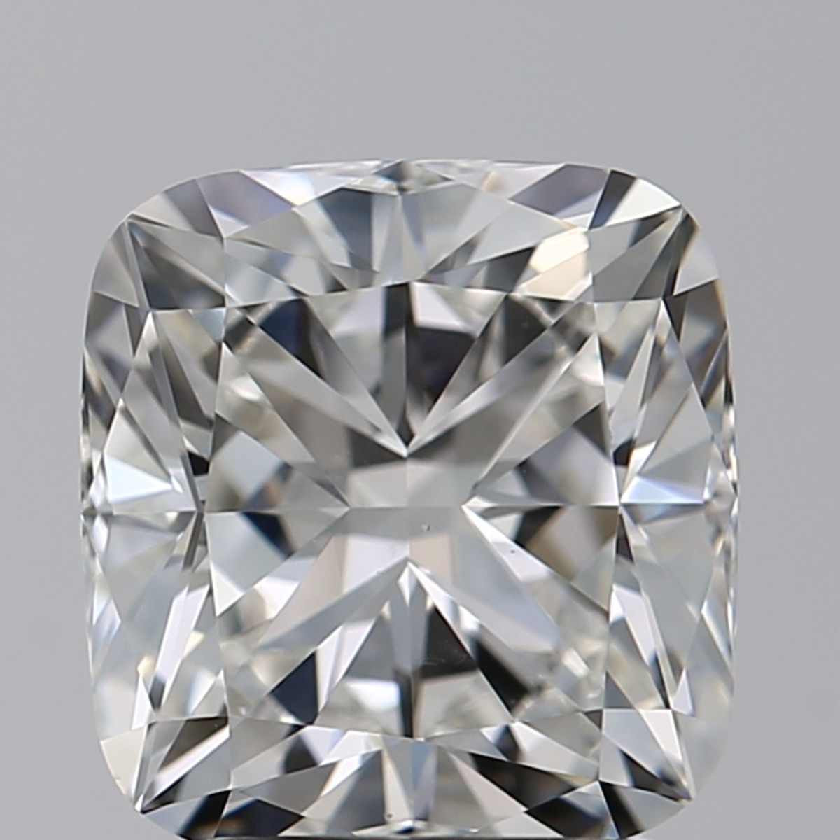 2.03 Carat Cushion Diamond (H/VS2)