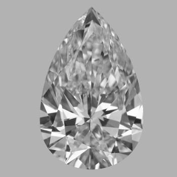 1.72 Carat Pear Diamond (D/IF)
