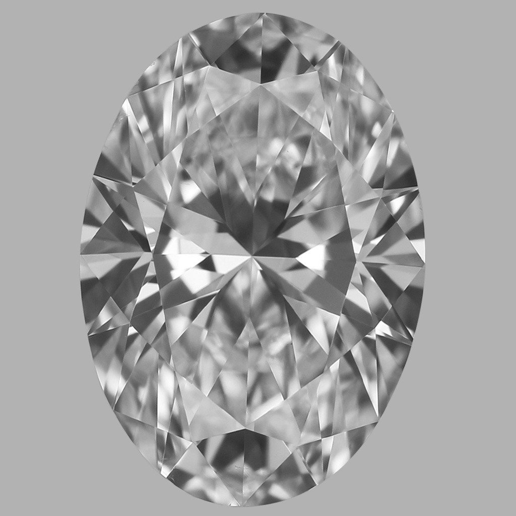 0.76 Carat Oval Diamond (D/VS2)