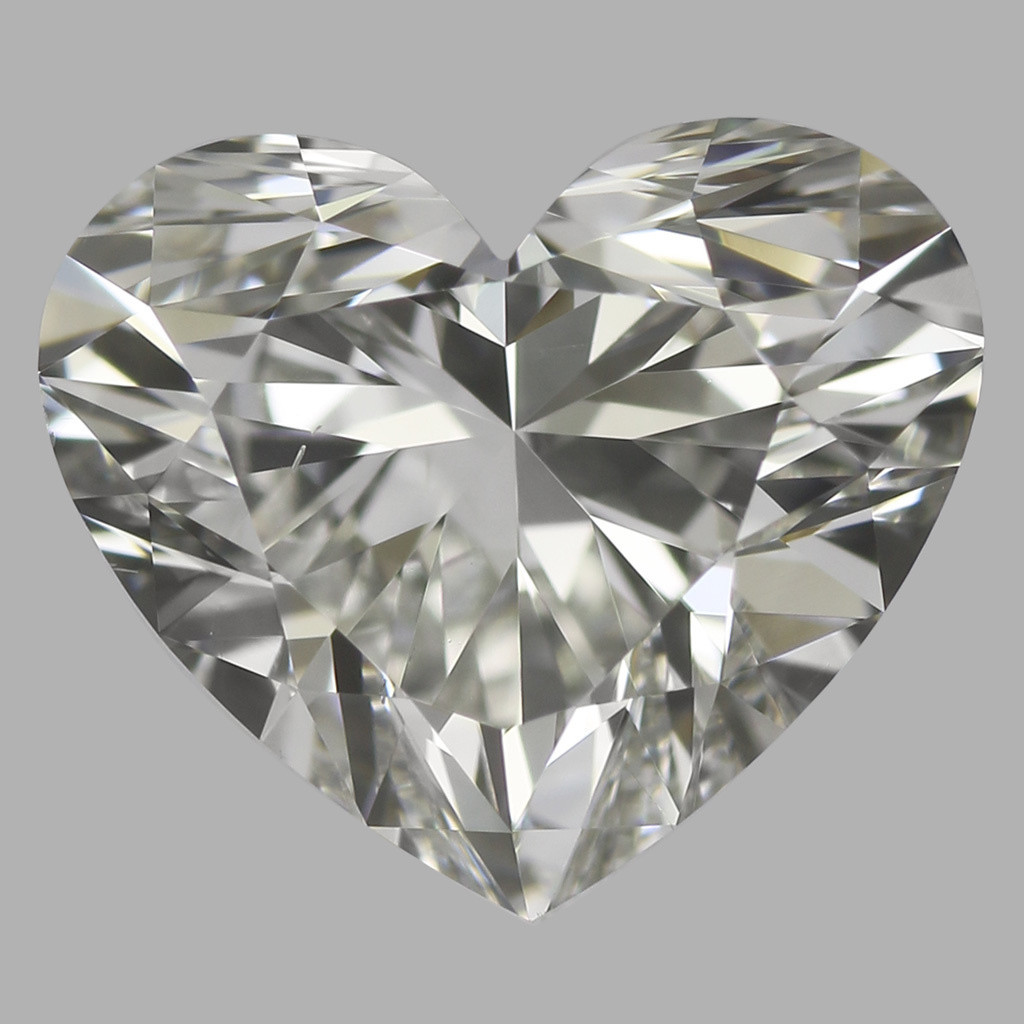 0.91 Carat Heart Diamond (H/VS2)