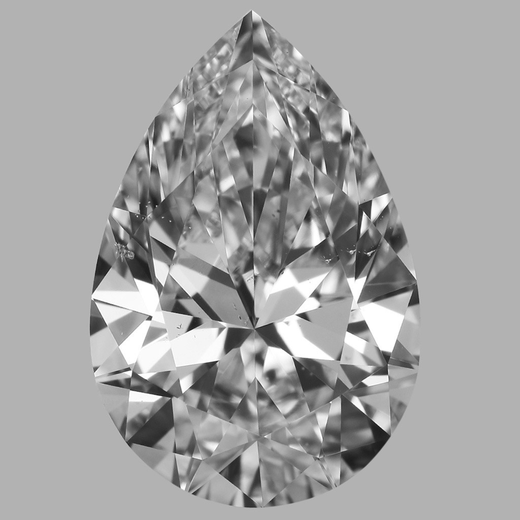 2.03 Carat Pear Diamond (D/SI1)