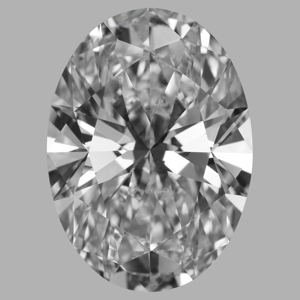 5.33 Carat Oval Diamond (F/IF)