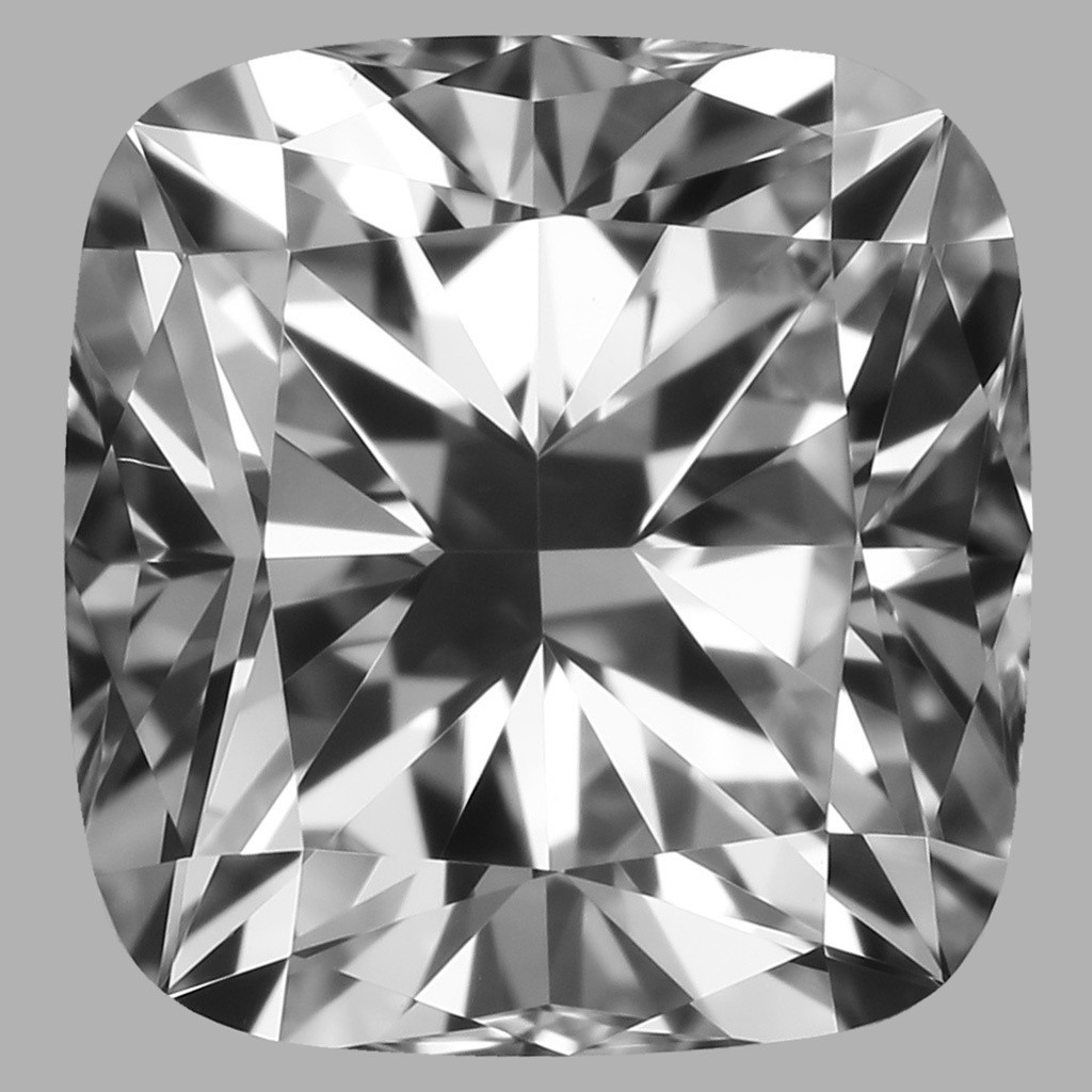 0.80 Carat Cushion Diamond (E/VS1)