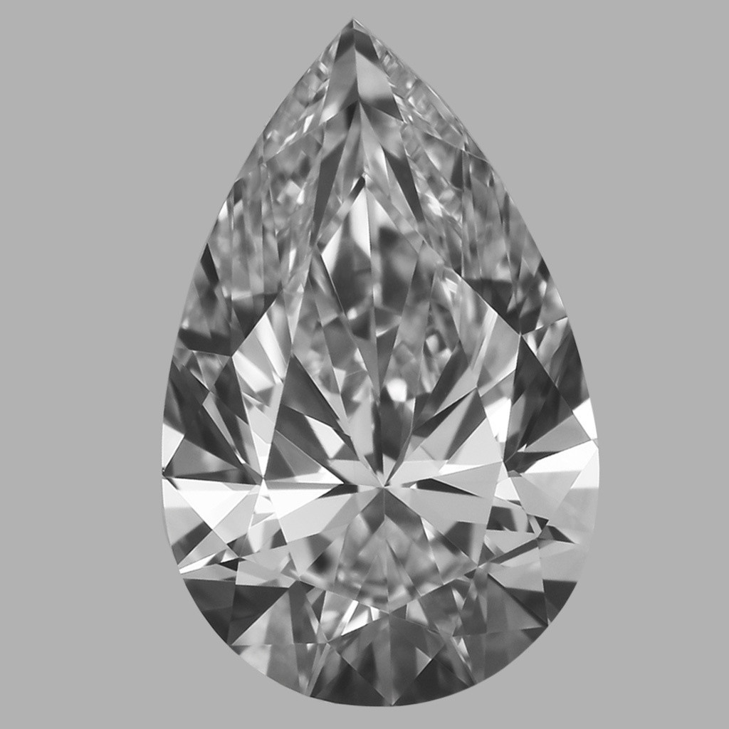 0.75 Carat Pear Diamond (E/VVS2)
