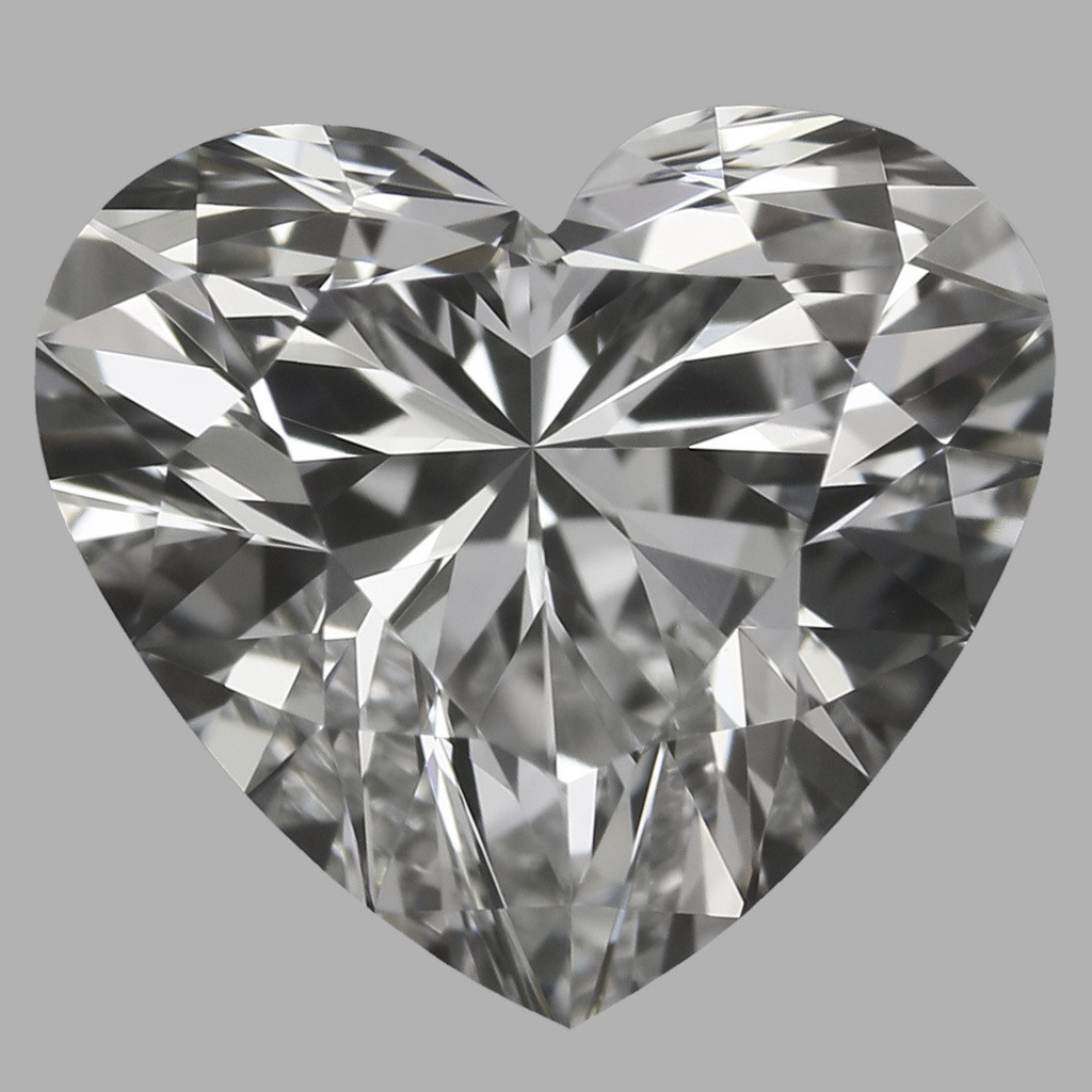 0.76 Carat Heart Diamond (F/VVS2)