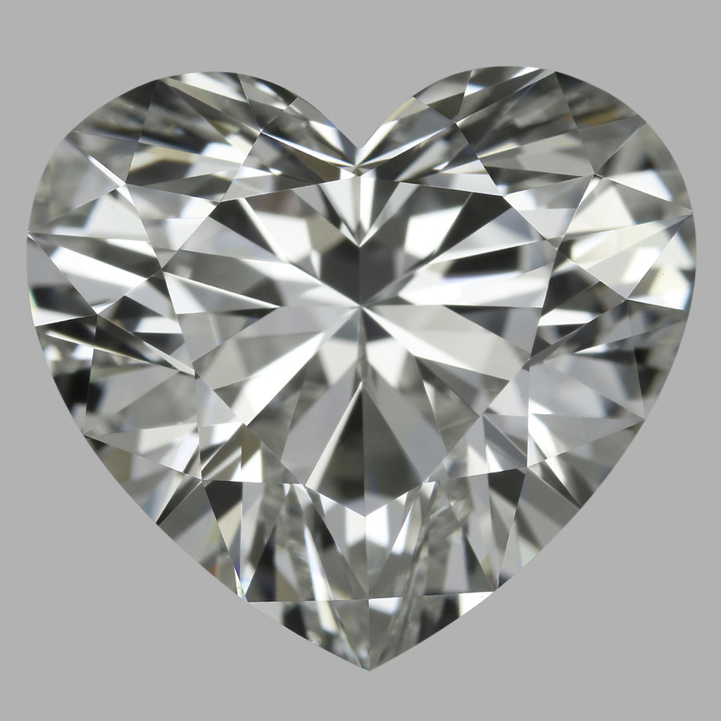 3.07 Carat Heart Diamond (H/VVS1)