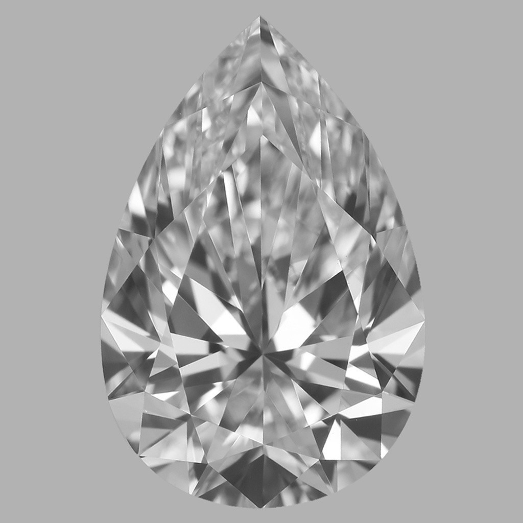 1.24 Carat Pear Diamond (D/VVS2)