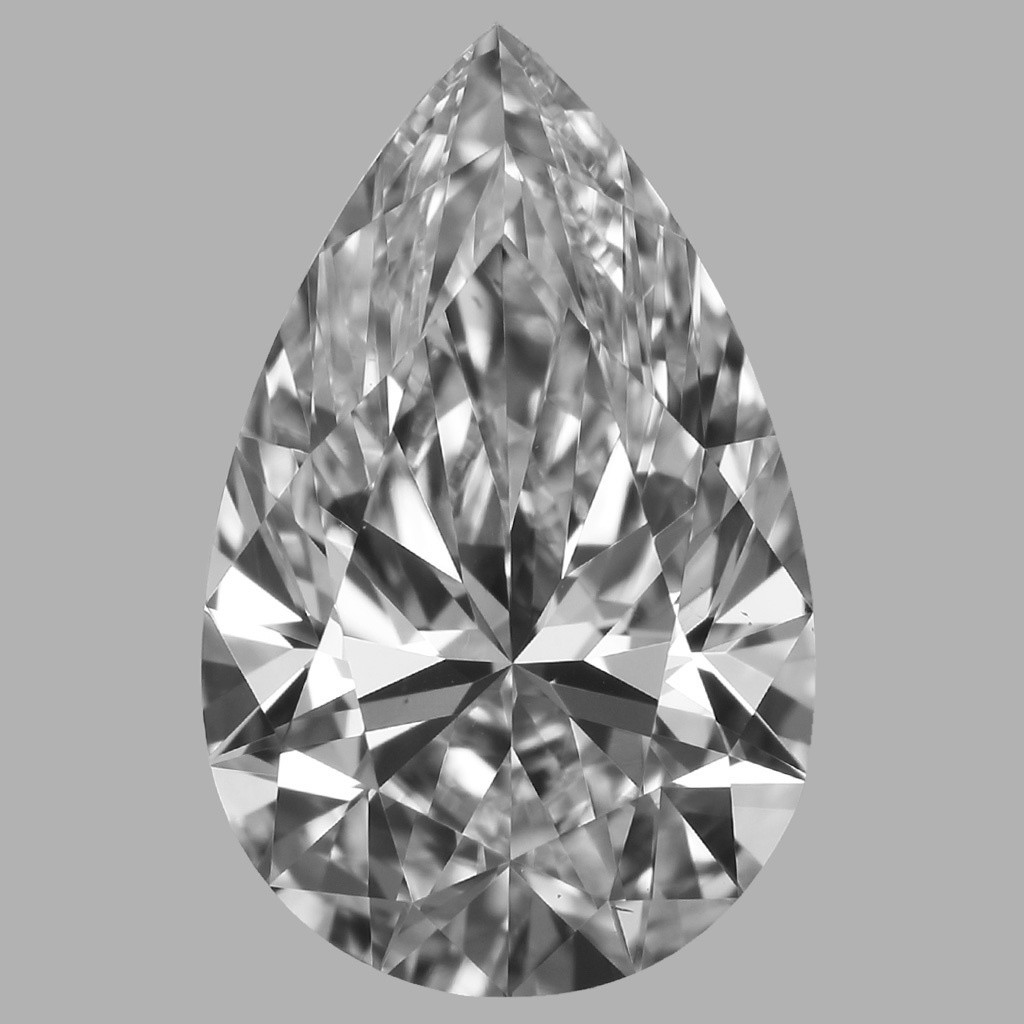 1.25 Carat Pear Diamond (D/VS1)