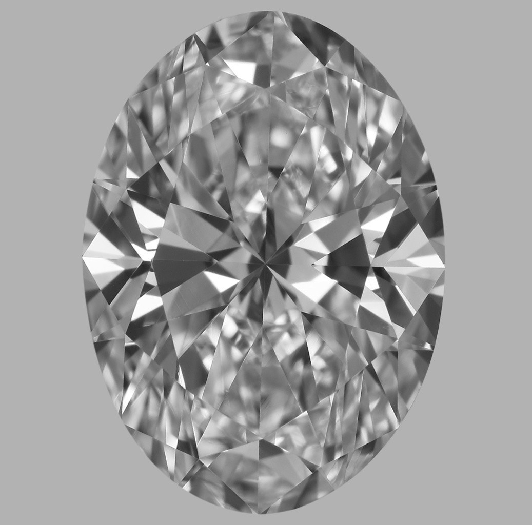 2.01 Carat Oval Diamond (D/VVS2)