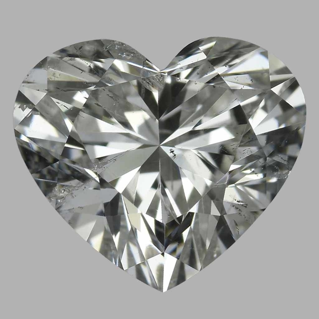 1.01 Carat Heart Diamond (H/SI2)