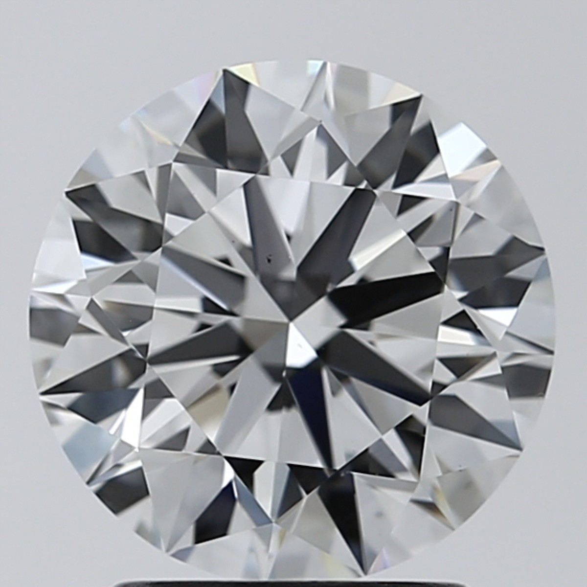 2.03 Carat Round Brilliant Diamond (F/VS1)