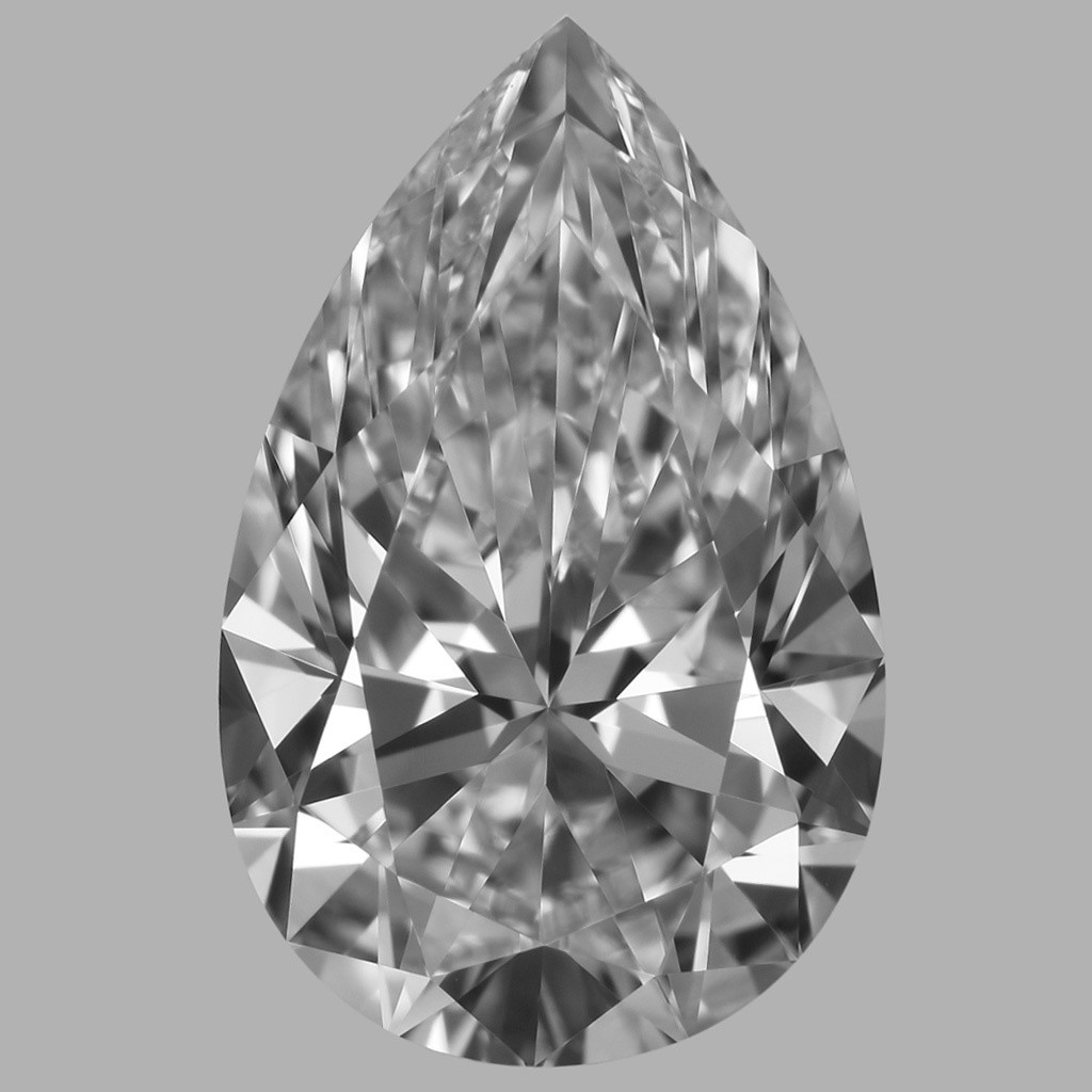 1.70 Carat Pear Diamond (D/VVS2)