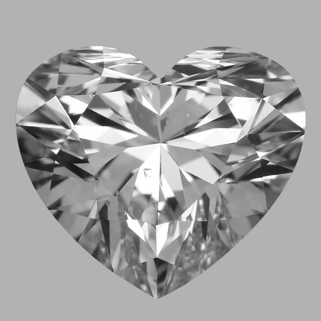 1.05 Carat Heart Diamond (D/SI1)