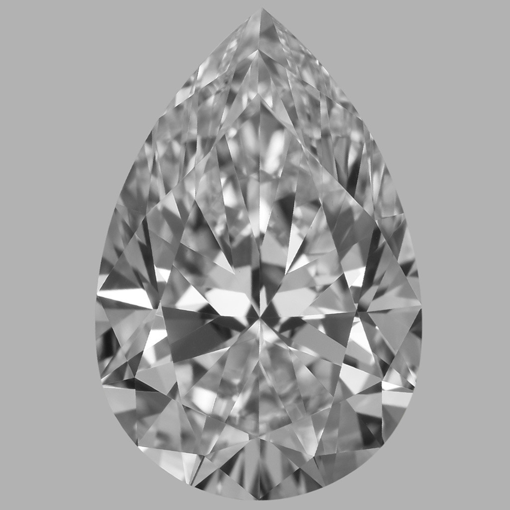 2.12 Carat Pear Diamond (D/VVS2)