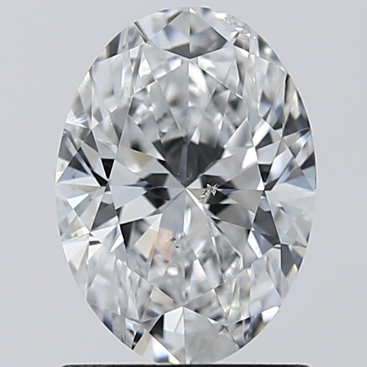 1.01 Carat Oval Diamond (D/SI2)