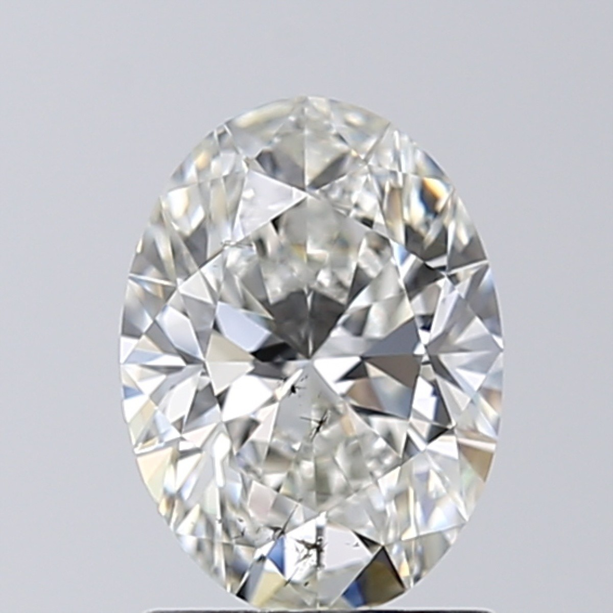 1.28 Carat Oval Diamond (H/SI1)