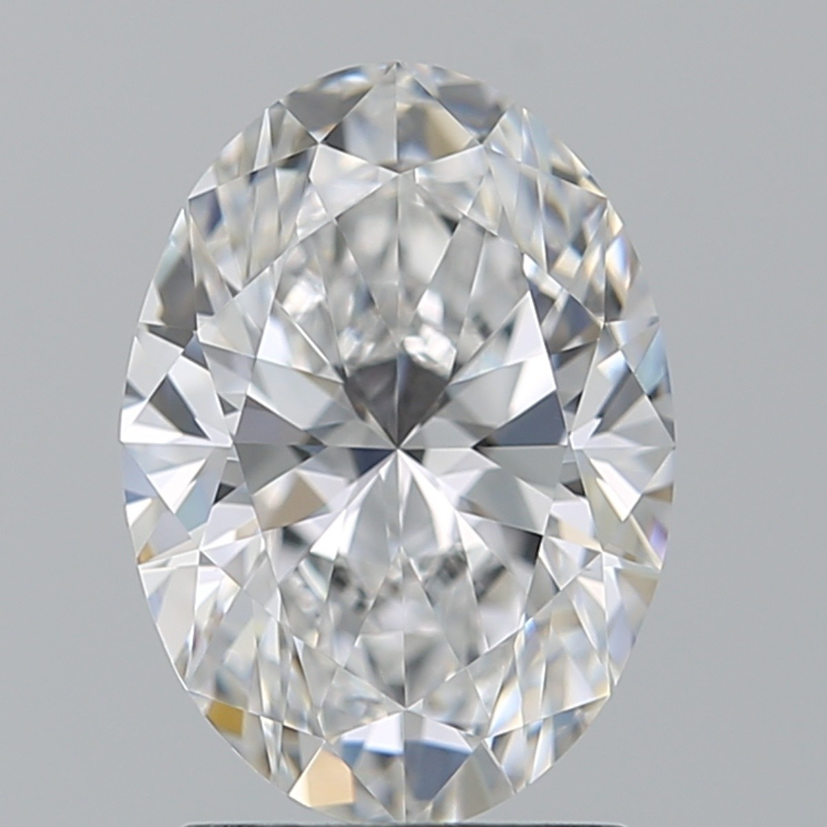 1.76 Carat Oval Diamond (D/VVS1)