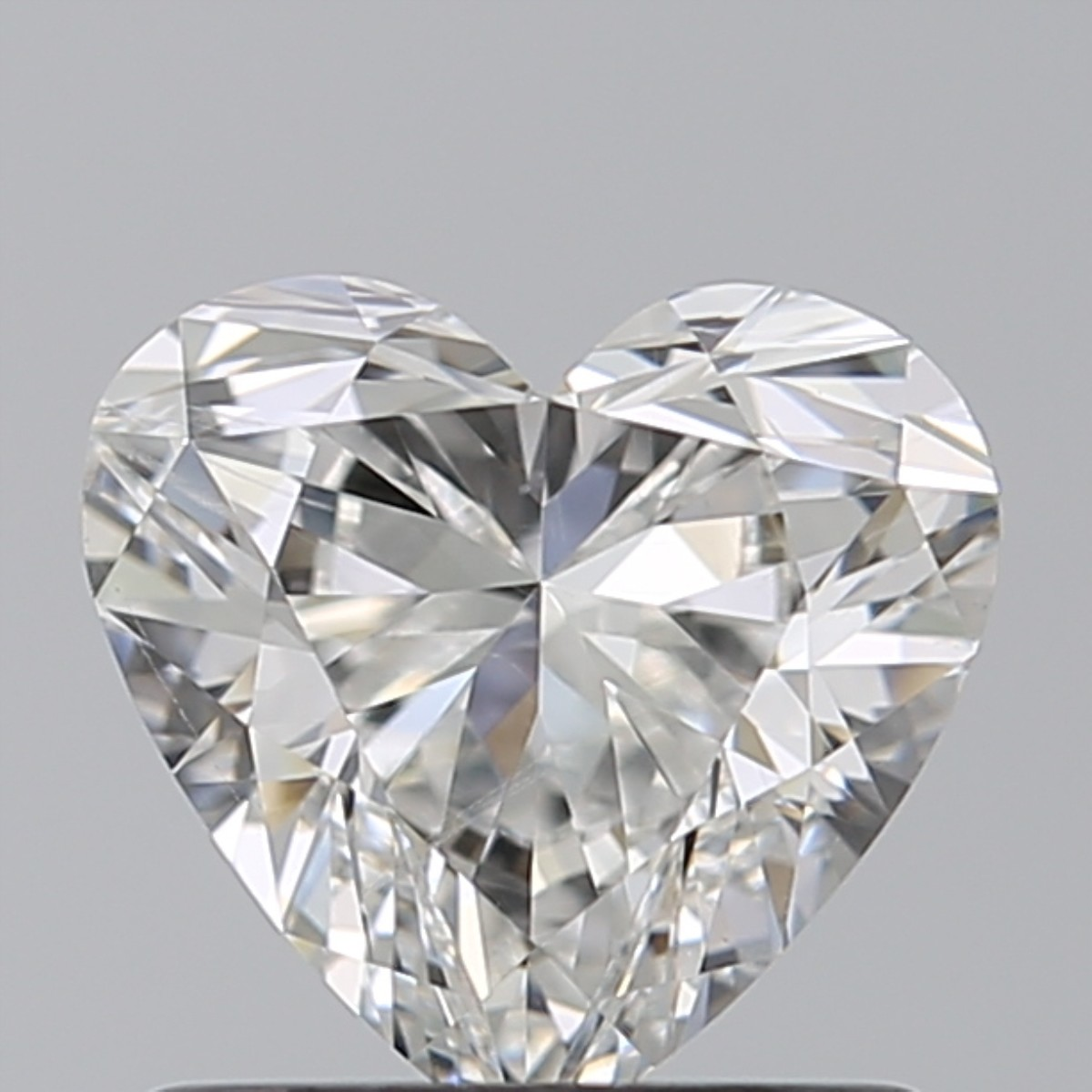 0.90 Carat Heart Diamond (F/SI1)