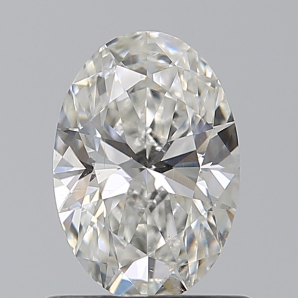 0.76 Carat Oval Diamond (G/SI1)