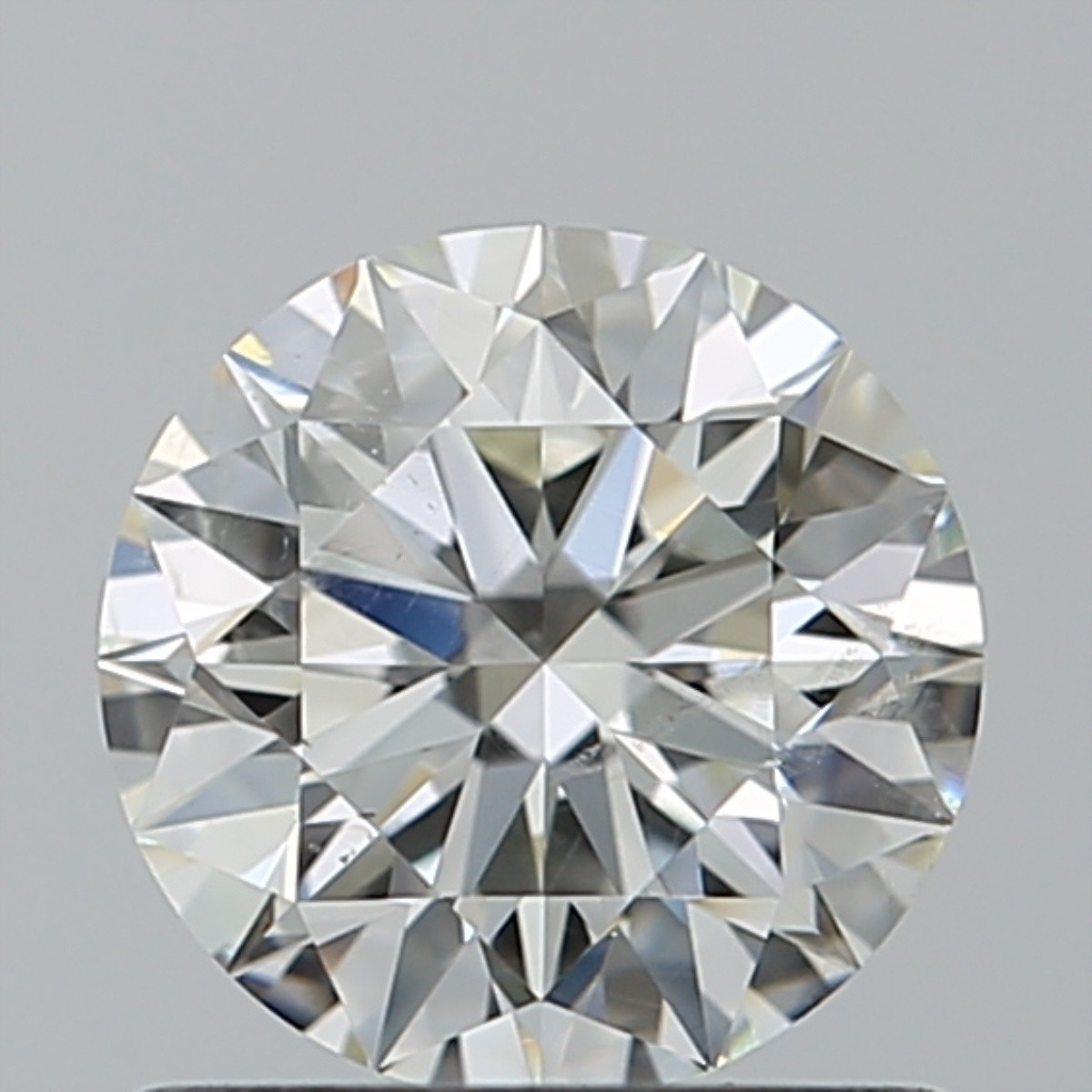 0.80 Carat Round Brilliant Diamond (J/SI2)
